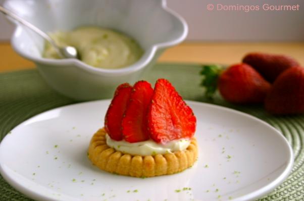 Strawberry Cream Cheese Shortbreads