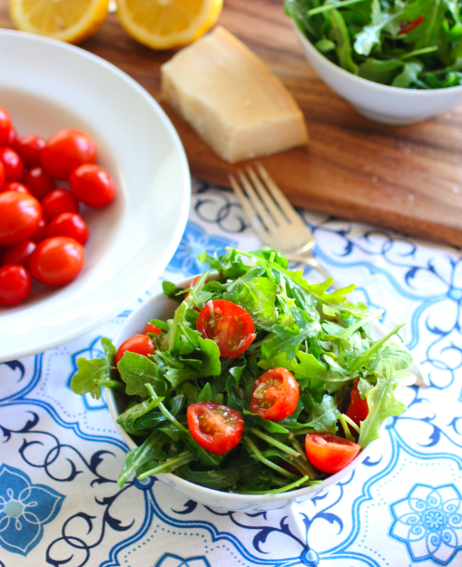 Arugula tomato salad - For the Feast