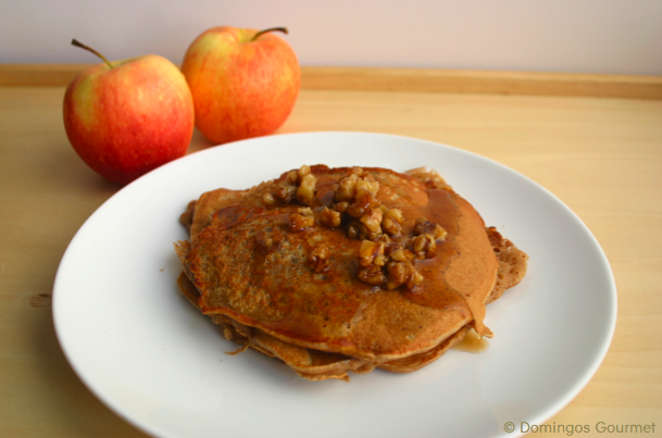 Apple Pie Pancakes 1 -Domingos Gourmet