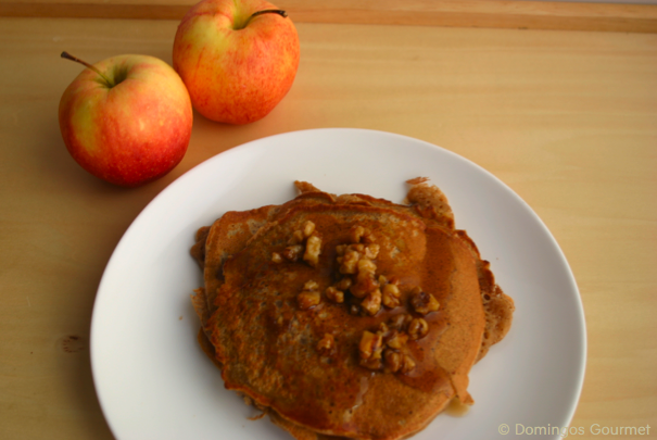 Apple Pie Pancakes 2 - Domingos Gourmet