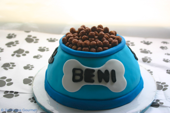 Dog Bowl Cake - Domingos Gourmet