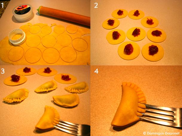 Proceso Empanadas de Chiverre - Domingos Gourmet